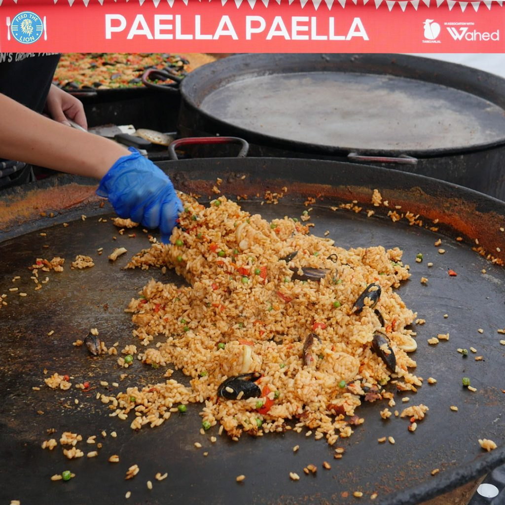 Paella Azanta Bespoke Henna London Halal Food Festival - Tobacco Dock 2018