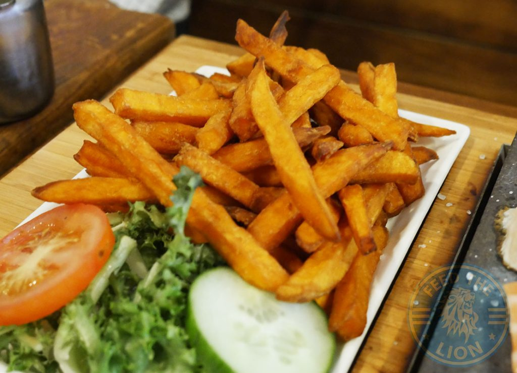 Rockit steakhouse Halal Steak Whitechapel Sweet Potato Fries