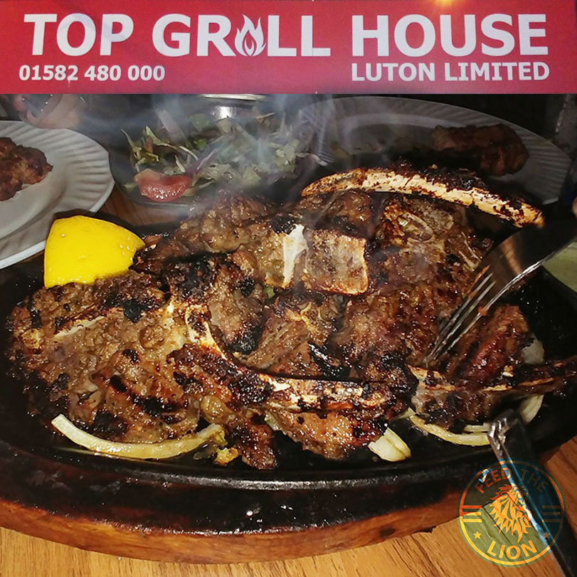 Top Grill House One Of The Grubbiest In Luton Feed The Lion