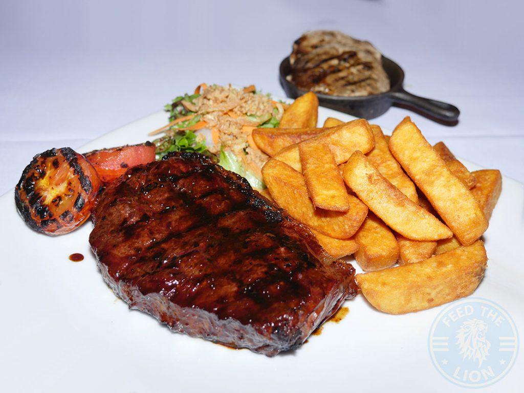 The Grill Steakhouse Halal steak Aylesbury Sirloin