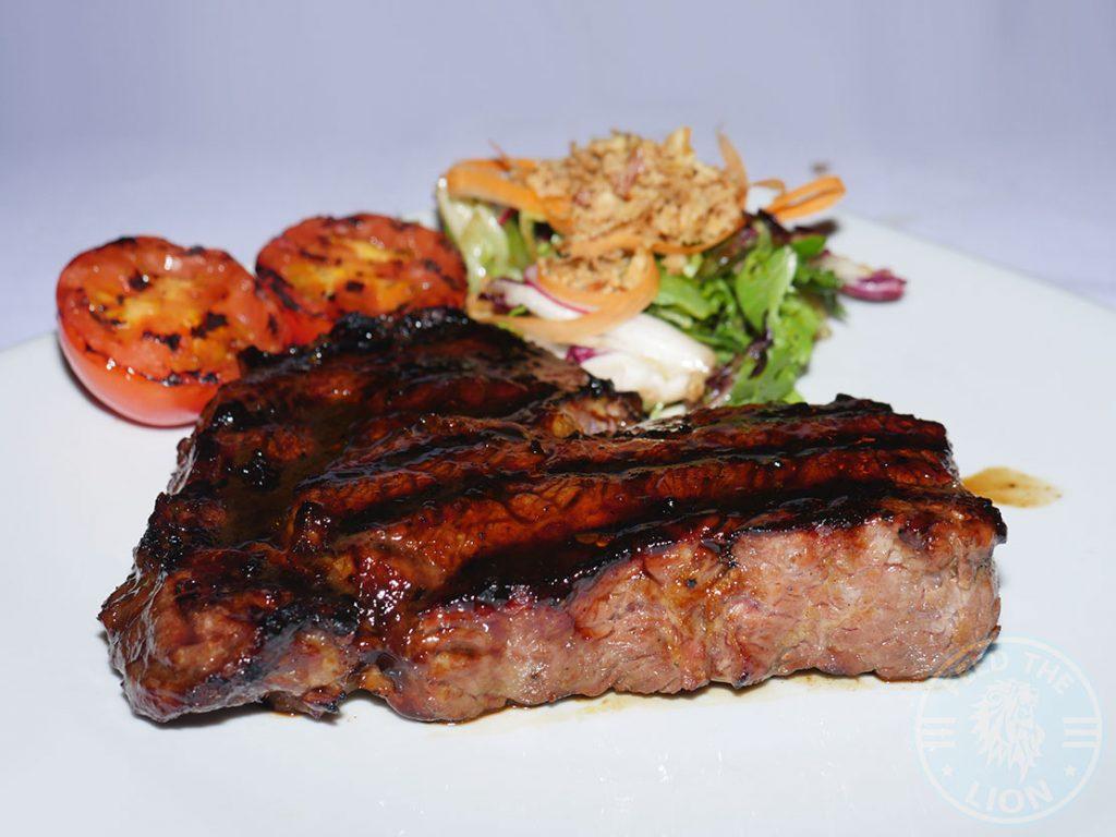 The Grill Steakhouse Halal steak Aylesbury rib eye