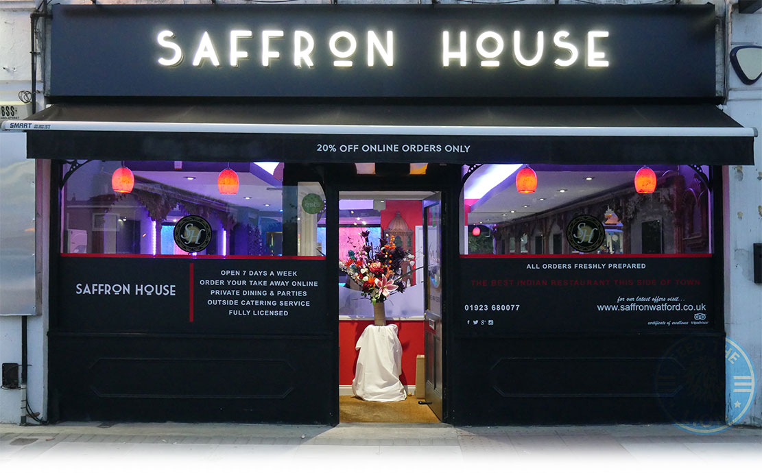 Saffron House Indian Watford Feed The Lion