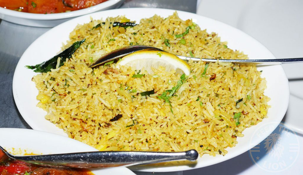 Saffron House Indian Halal Restaurant Watford lemon rice