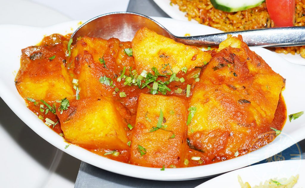 Saffron House Indian Halal Restaurant Watford Bombay Aloo