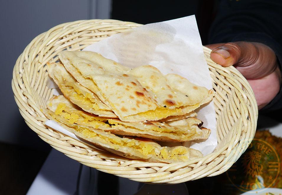 Saffron House Indian Halal Restaurant Watford Peshwari nan £2.50