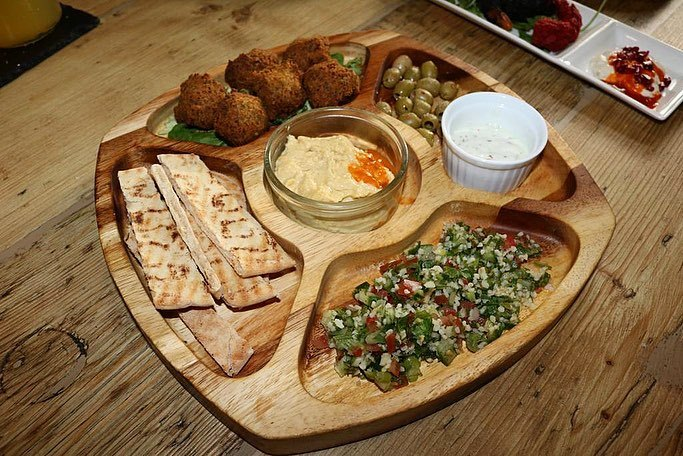 The Fig and the Olive Blackburn Mezze Cold Platter