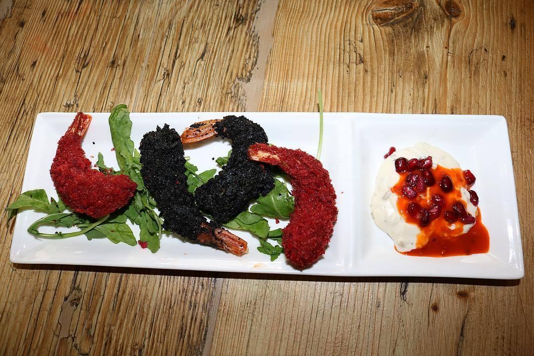 The Fig and the Olive Blackburn Burger Prawns