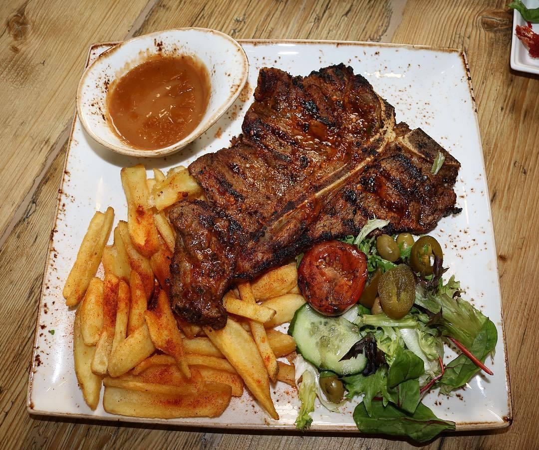 The Fig and the Olive Blackburn T-bone Steak