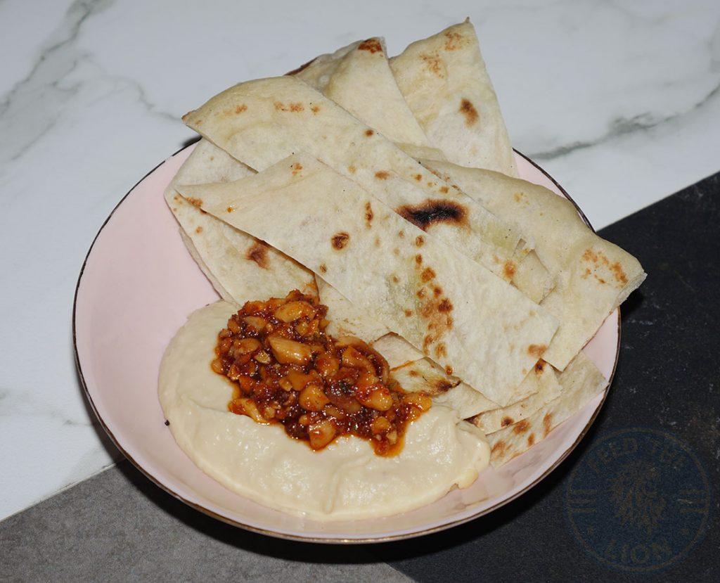 Maison Bab Kebabs Covent Garden London Hummus