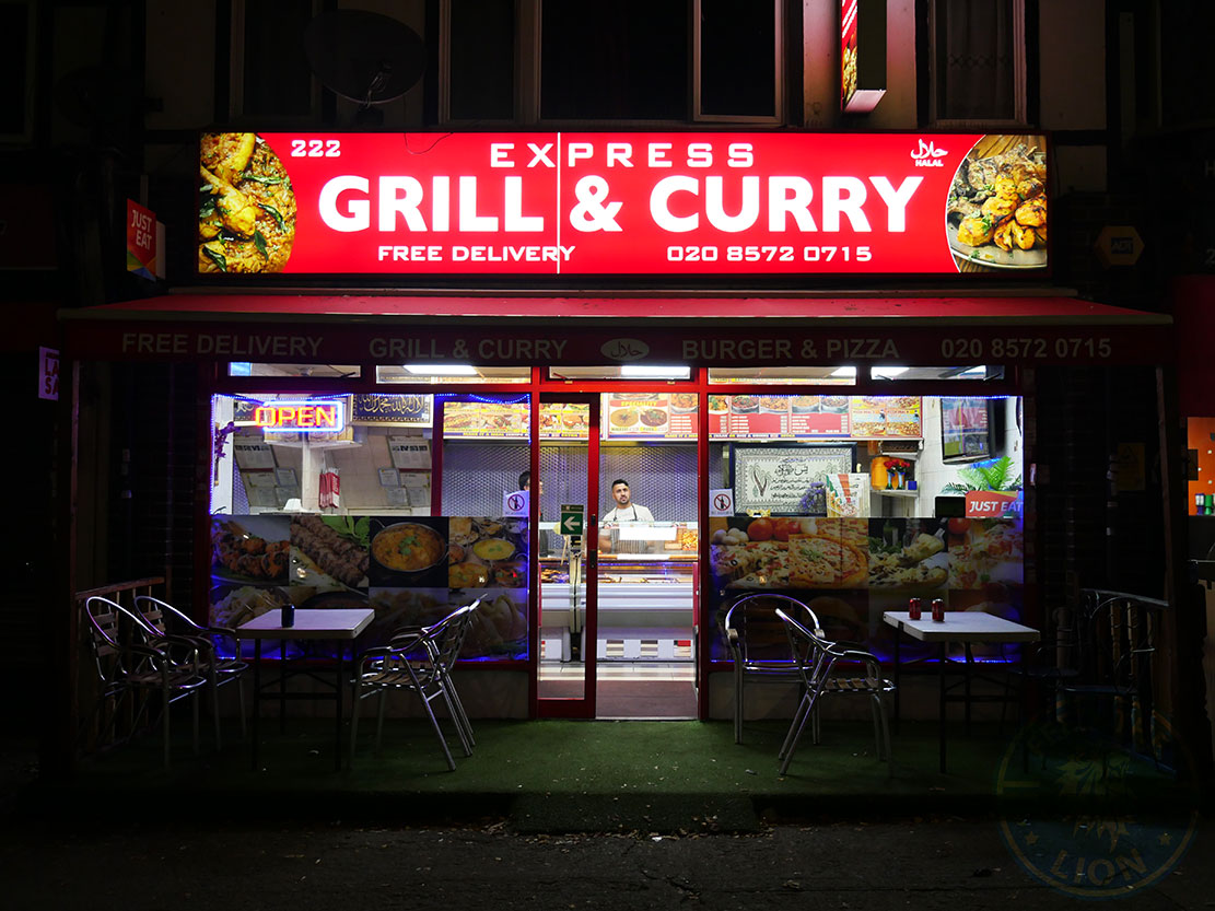 Grill And Curry Hounslow Great West Road Feed The Lion