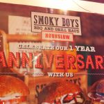 anniversay one year Smokey boys halal Burger BBQ grill Haus Hounslow restaurant London