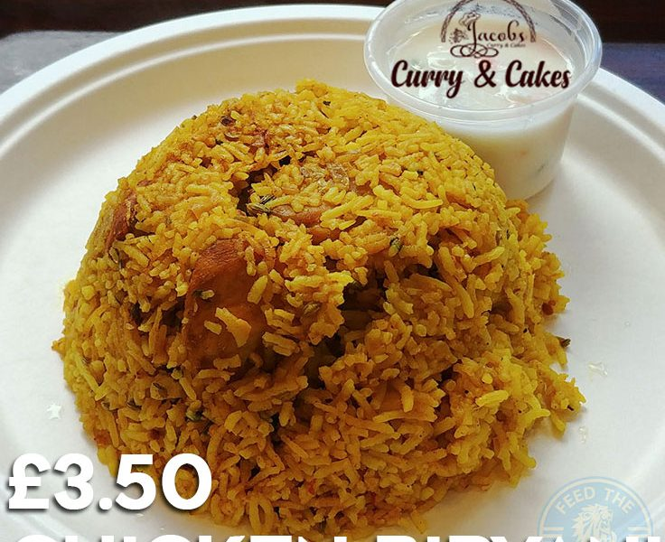 Halal chicken biryani Curry & Cakes by Jacobs - West Ealing