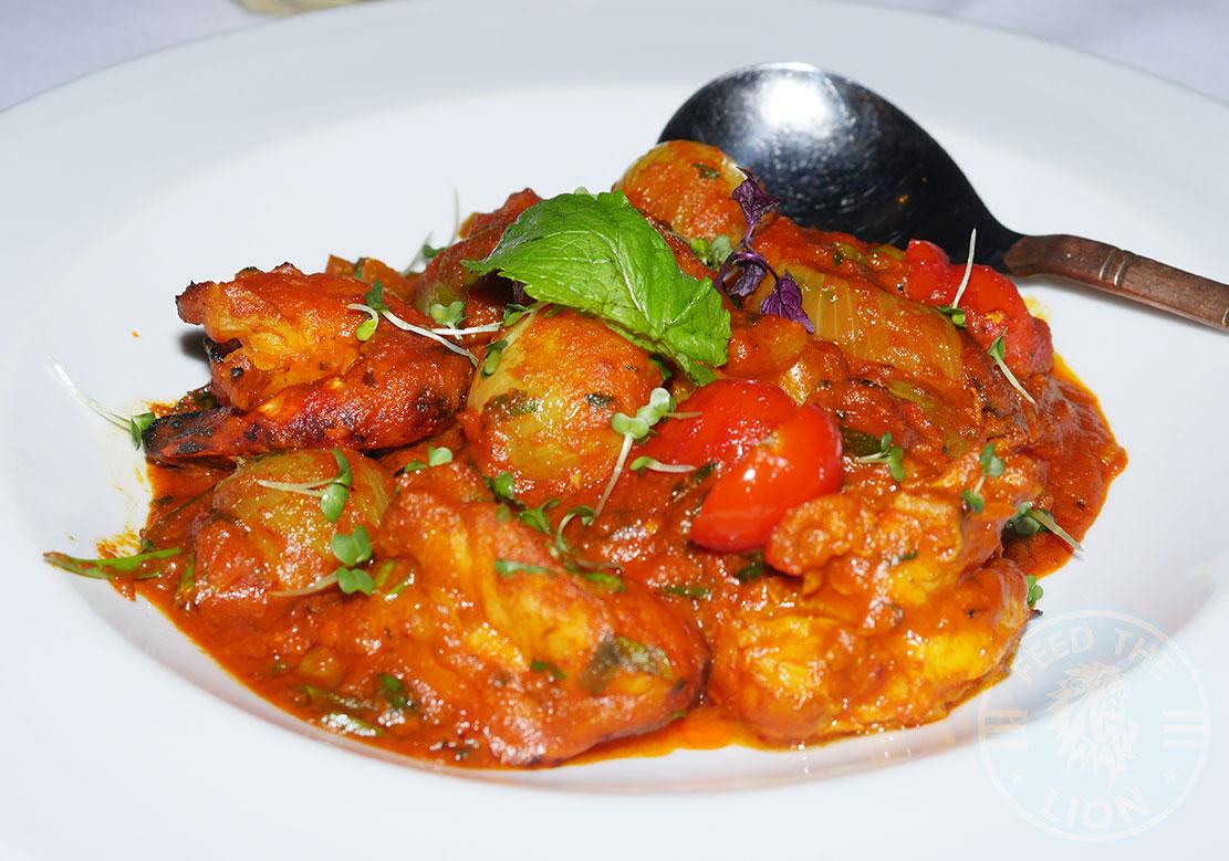 prawns Anokha London, Indian, Halal restaurant