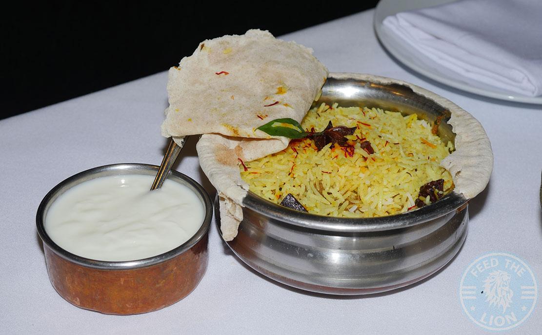 biryani rice Anokha London, Indian, Halal restaurant