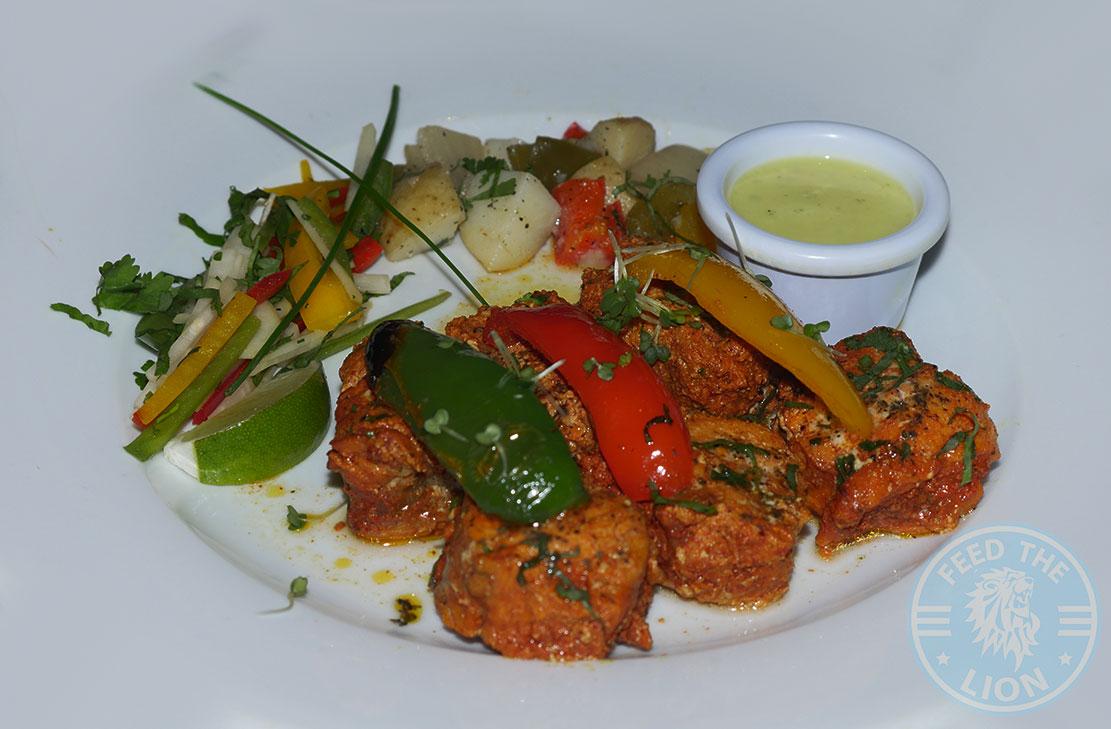 Monkfish Tandoori Anokha London, Indian, Halal restaurant