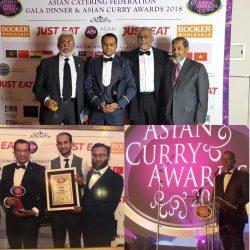 Asian Curry Awards 2018