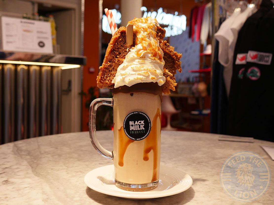 Black Milk Soho dessert milkshake Fiorucci