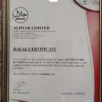 halal certificate Curry & Cakes by Jacobs - West Ealing
