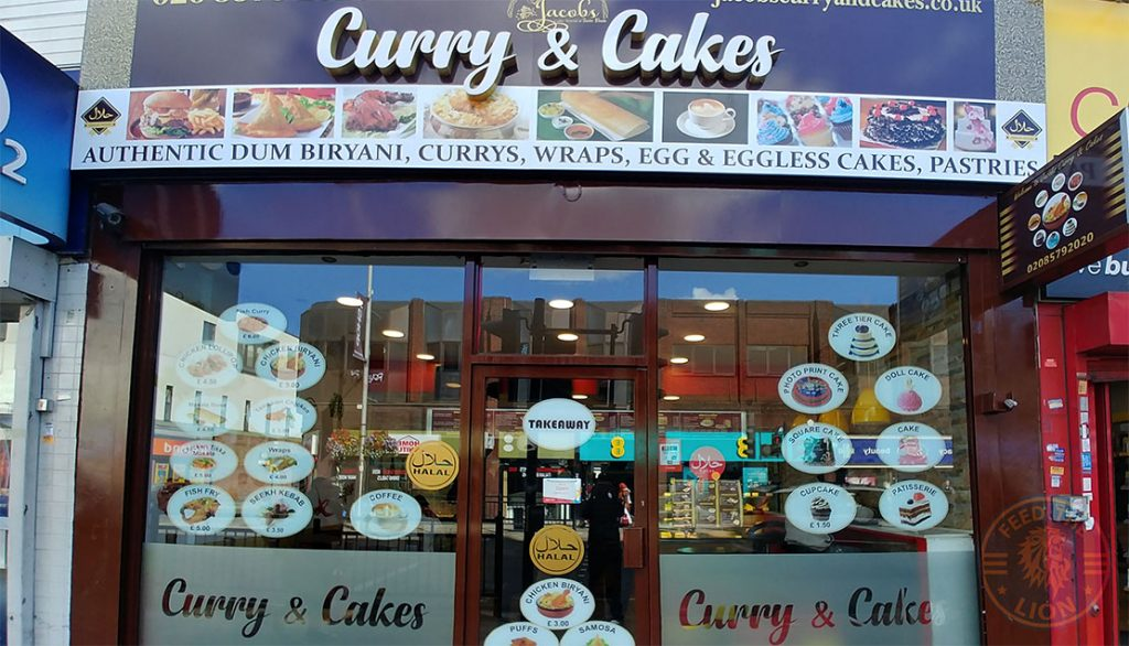 halal Curry & Cakes by Jacobs - West Ealing