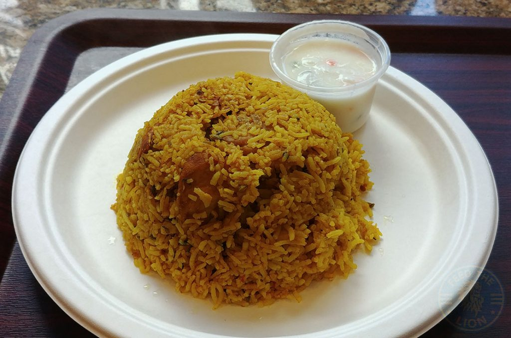 Curry & Cakes by Jacobs - West Ealing chicken biryani