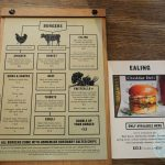 menu Honest burgers halal chicken Ealing Broadway, Tooting, Baker Street