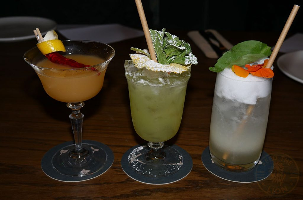 drinks mocktails Kahani London Indian Restaurant Halal Curry