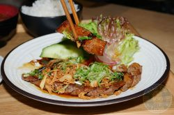 beef Mitsuryu Japanese Halal restaurant China Town London