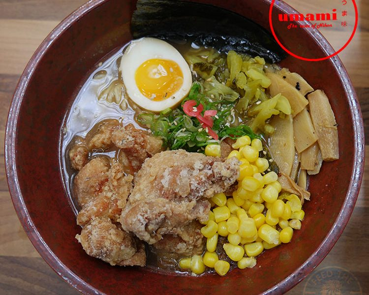 Umami halal chicken Japanese West Ealing Ramen