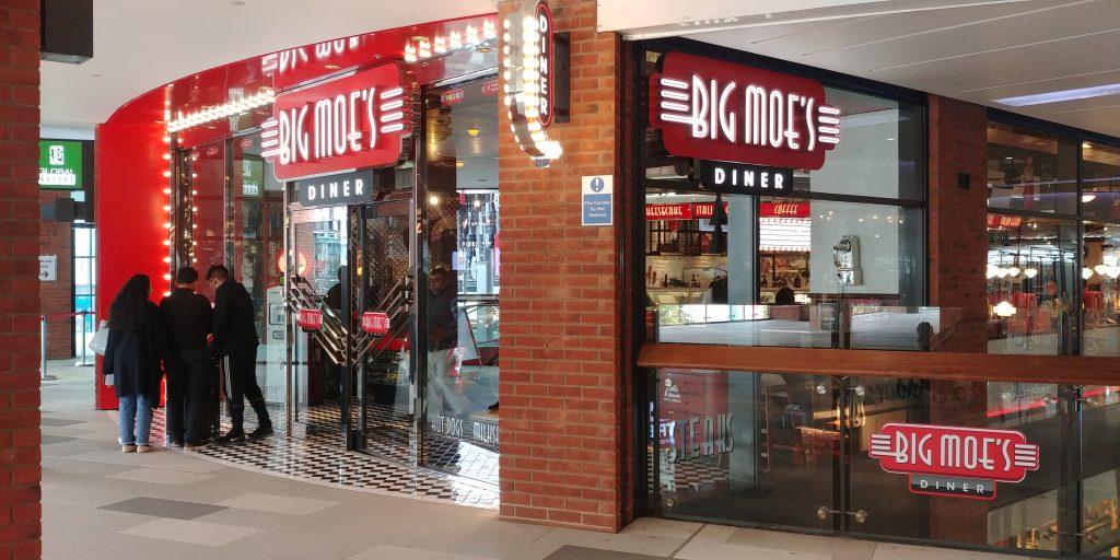big moes Wembley 'London Designer Outlet' Halal Friendly Restaurants