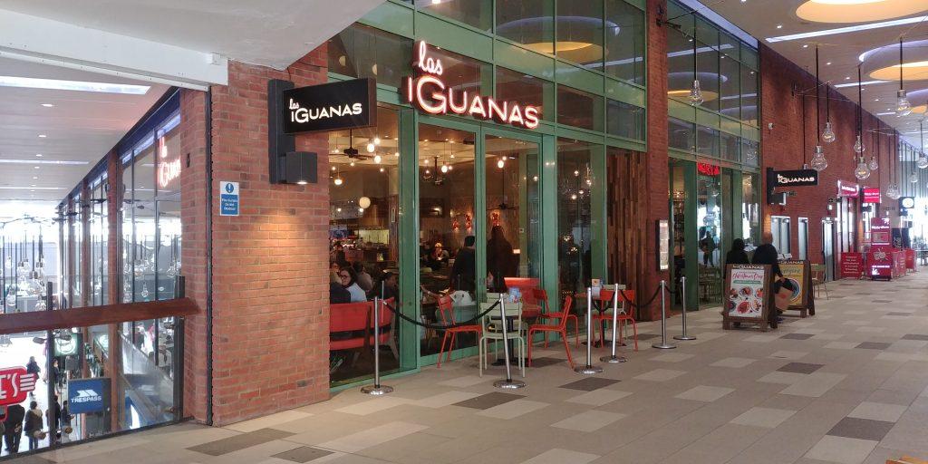 las iguanas Wembley 'London Designer Outlet' Halal Friendly Restaurants