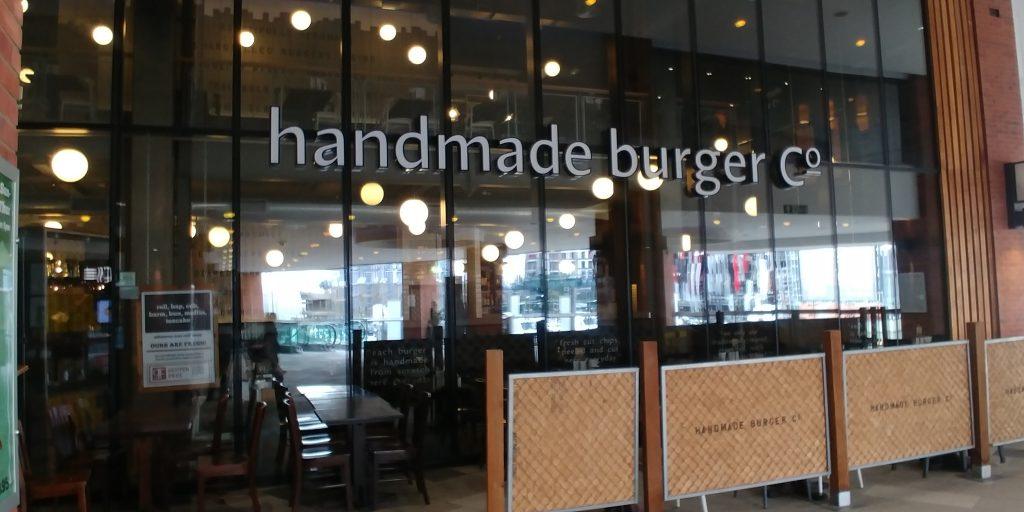 handmade burger co Wembley 'London Designer Outlet' Halal Friendly Restaurants