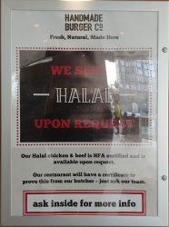 Wembley 'London Designer Outlet' Halal Friendly Restaurant Handmade burger co