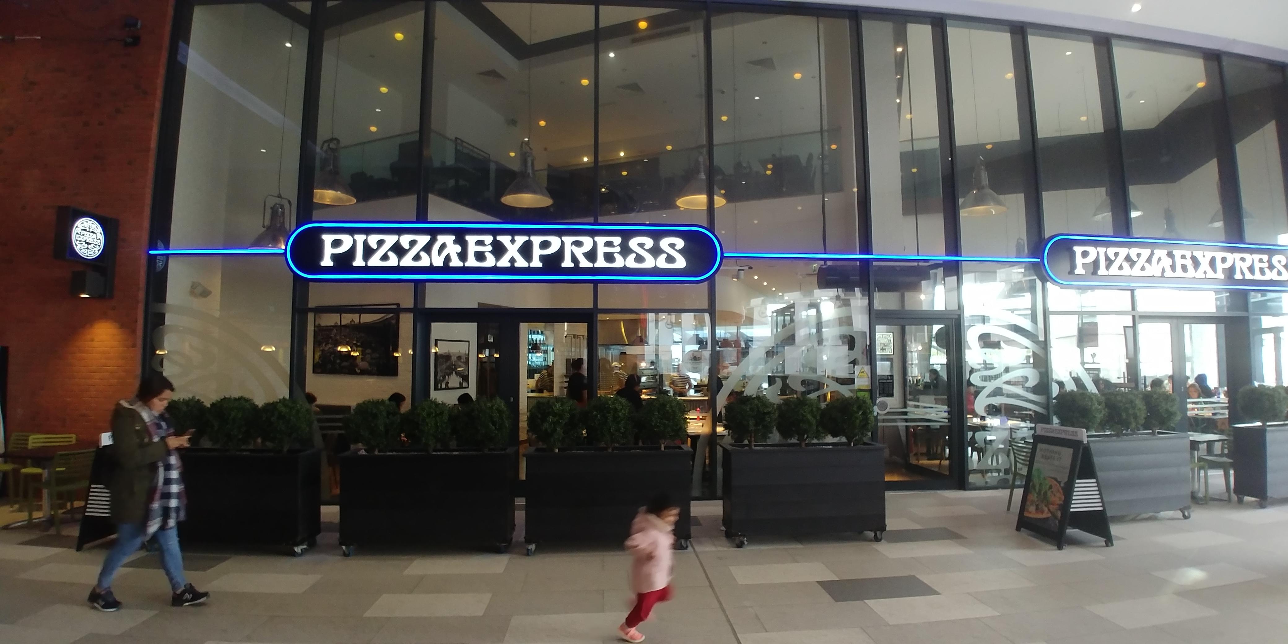 Pizza Express Wembley London Designer Outlet Halal