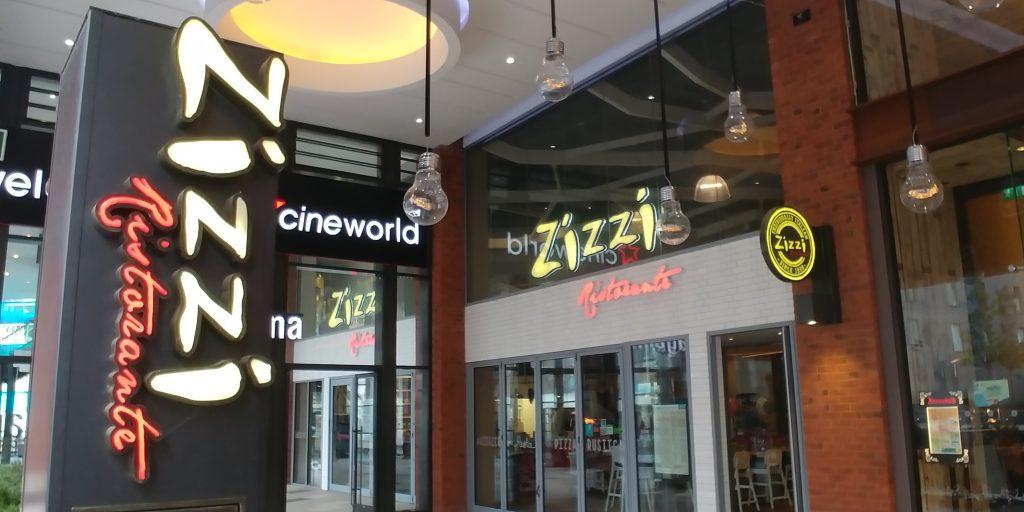 Wembley 'London Designer Outlet' Halal Friendly Restaurants Zizzi