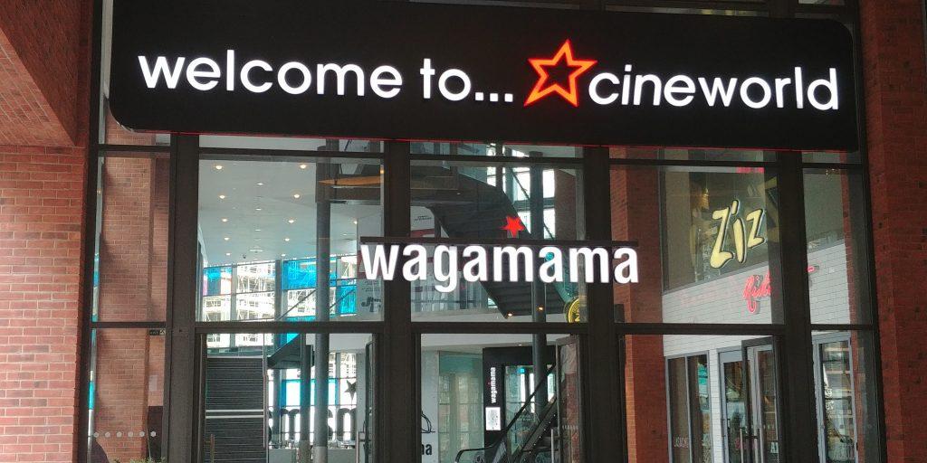 Wembley 'London Designer Outlet' Halal Friendly Restaurants Wagamama
