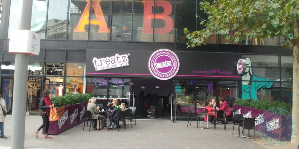 Treatz Wembley 'London Designer Outlet' Halal Friendly Restaurant