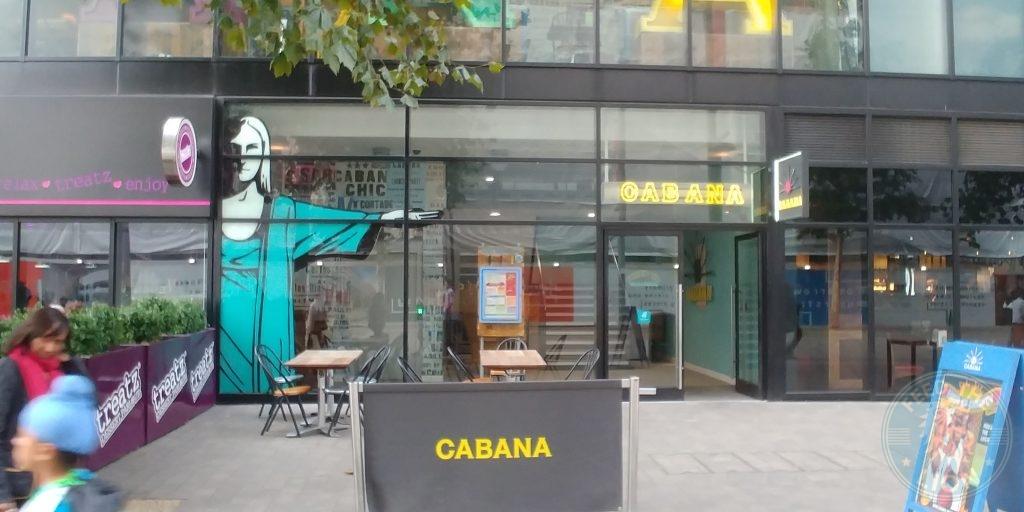 Cabana Wembley 'London Designer Outlet' Halal Friendly Restaurant