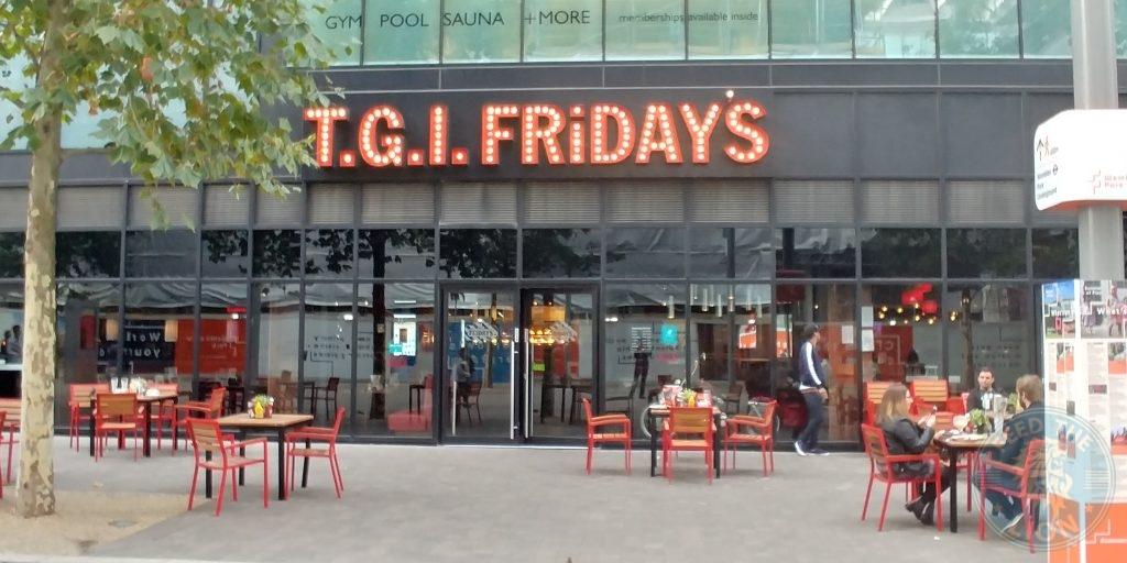 Wembley 'London Designer Outlet' Halal Friendly Restaurant T.G.I. Friday's