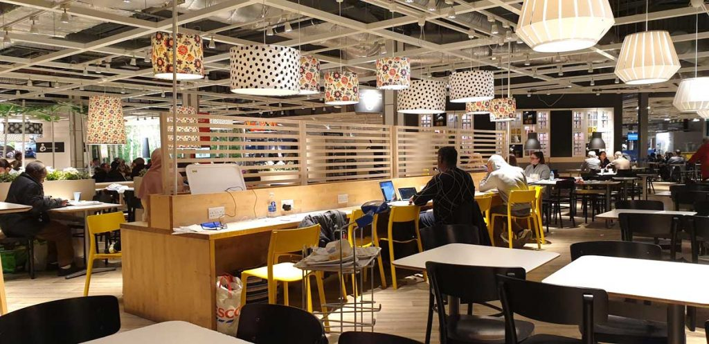 Ikea Wembley London Halal Restaurant