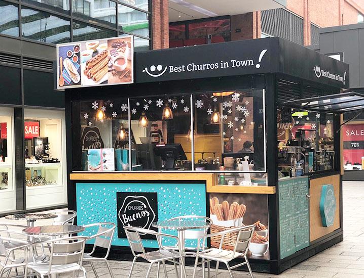 Churros Buenos Wembley 'London Designer Outlet' Halal Friendly Restaurant