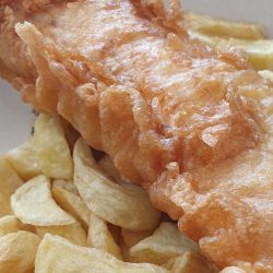 fish chips HMC Halal Leicester restaurant