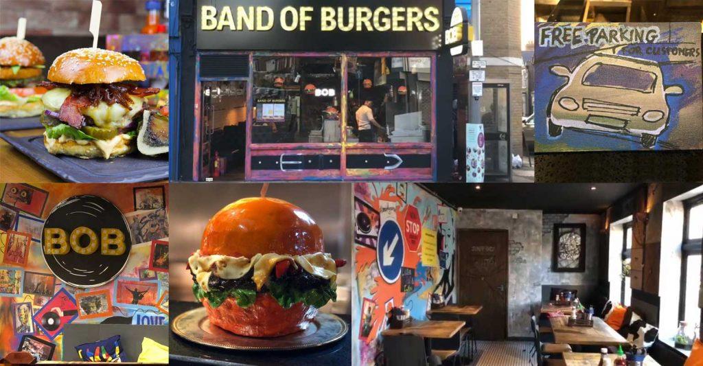 Band of Burgers Walthamstow London