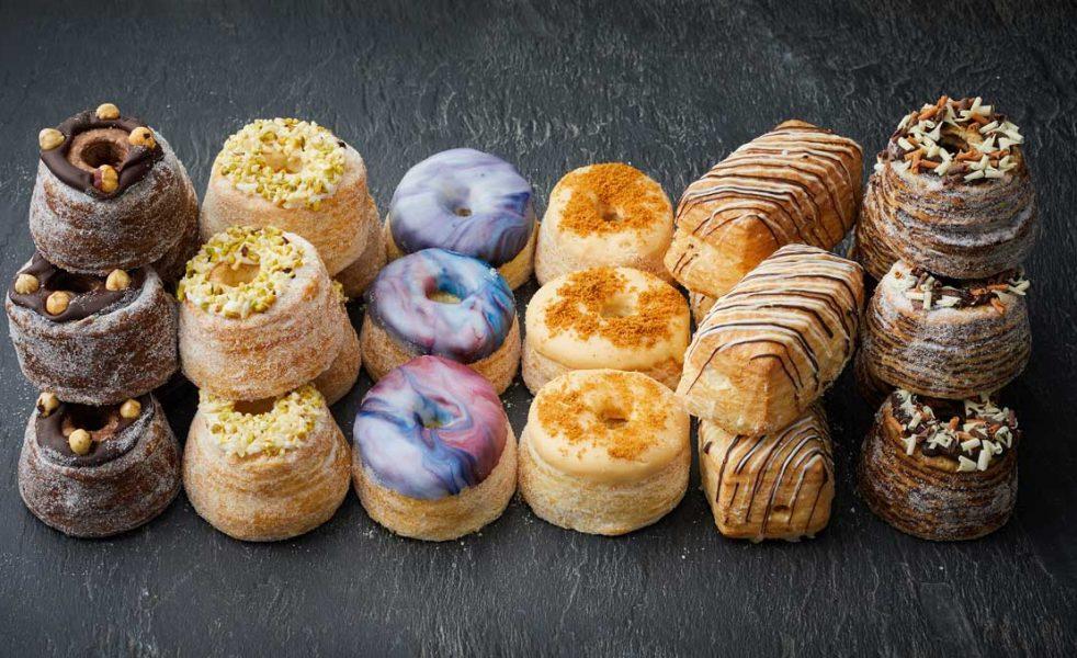 Dum Dum Doughnuts cronut range