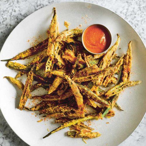 Dishoom Okra Fries Halal Recipe Restaurant London