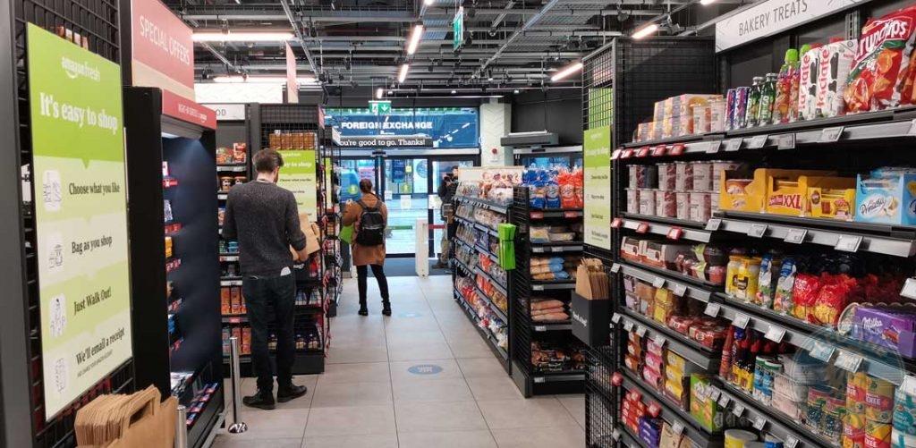 Amazon Go Ealing Broadway London Fresh Halal