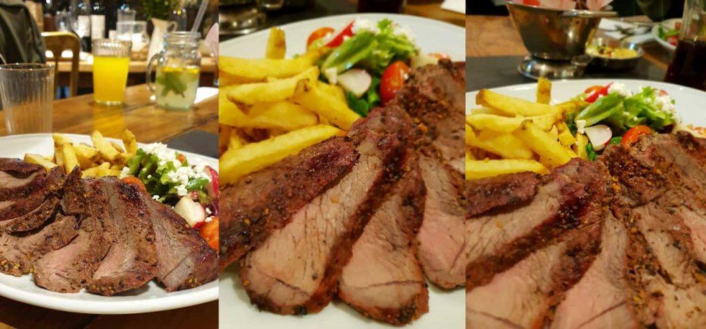 Rump Cristina's Steakhouse Steaks Barking East London Halal Restaurant