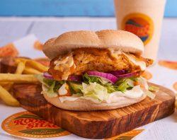 Double award-winning Rooster Shack in Woking Good Food Award Halal restaurant winner