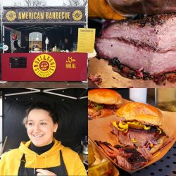 Smoke & Bones Halal Street Food Smoked Brisket Kerb London