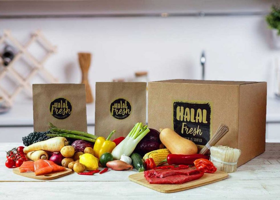 Halal Fresh's 4 unique selling points are that it saves you: 1) time, 2) shopping, 3) wastage, 4) preparation.