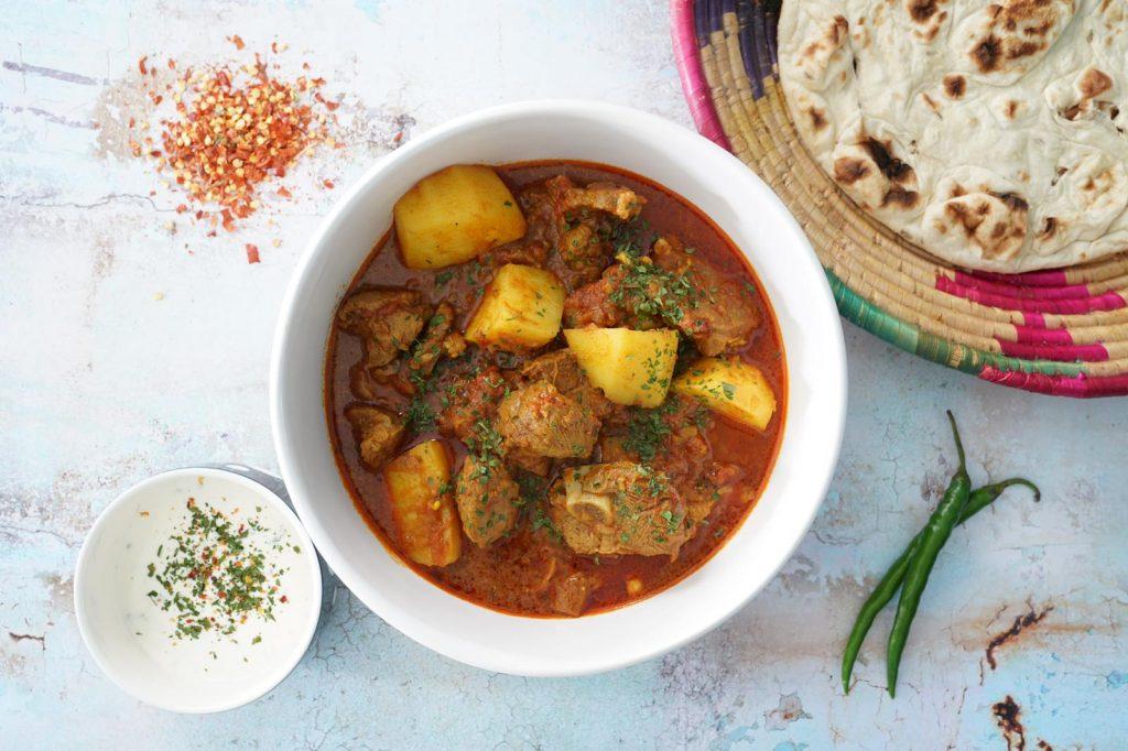 Curry Fusion Box Halal Indian London Halal Food Festival 2021 London Stadium